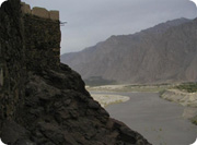 Indus River from the Fort at Skardu